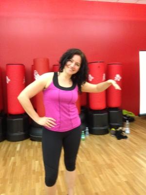 Sara Rosso, Zumba instructor